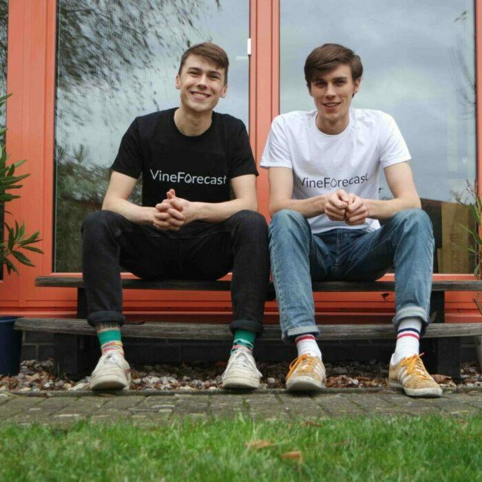 Richard und Paul Petersik, die Gründer von VineForecast